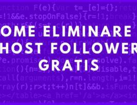 Come eliminare i ghost followers gratis