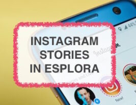 Novità Instagram stories in esplora