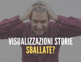 Visualizzazioni delle storie: perché sono sballate?