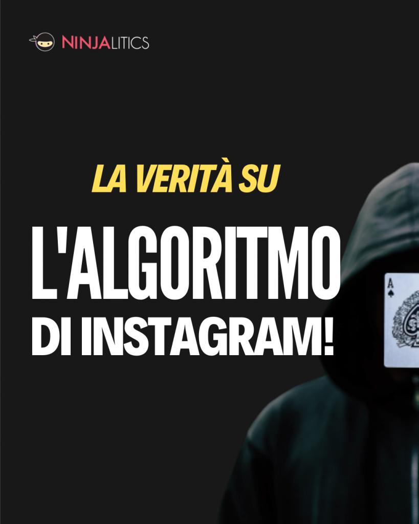la verità sull'algoritmo di instagram