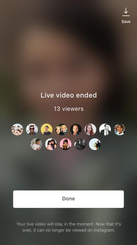 Live Instagram su IGTV