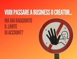 Hai raggiunto il limite di account Business Manager?