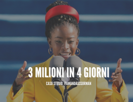 Amanda Gorman: 3 milioni di follower in 4 giorni