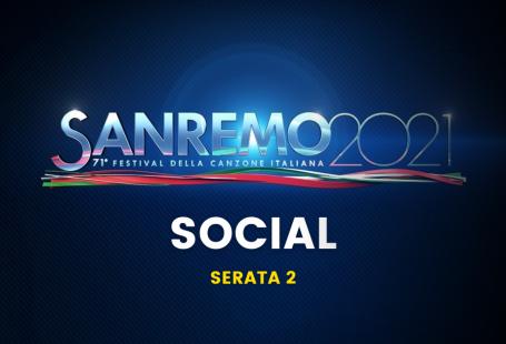 sanremo 2021 social instagram